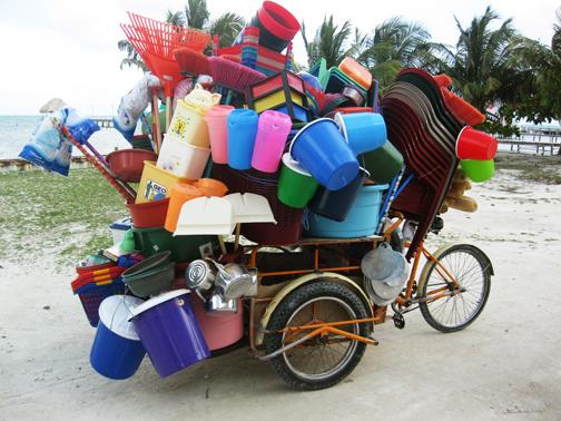 Plastic cart