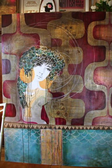 Anahata katkin-paintinginprogress