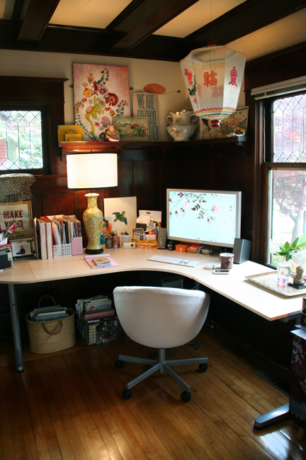 Anahata's desk