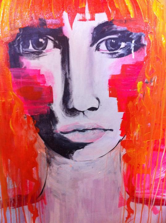 Anahata Katkin-lost face