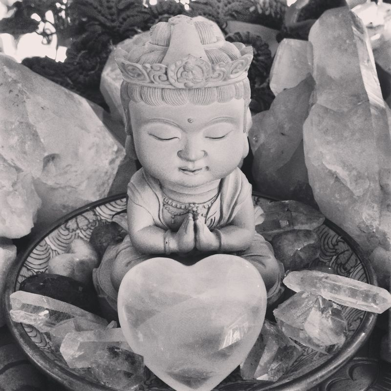 Taipei Girl buddha. Anahata Katkin