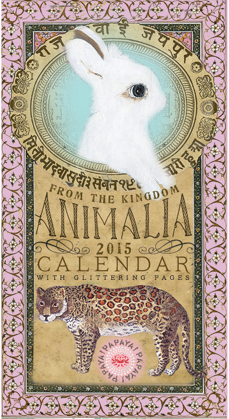 Animalia calendar 2015
