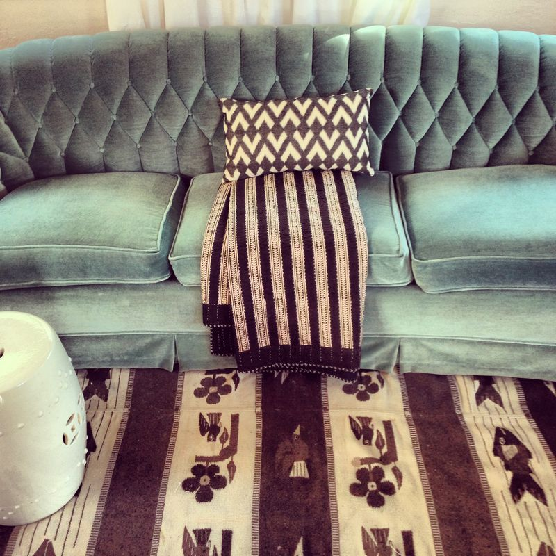 Tiffany blue sofa anahata katkin