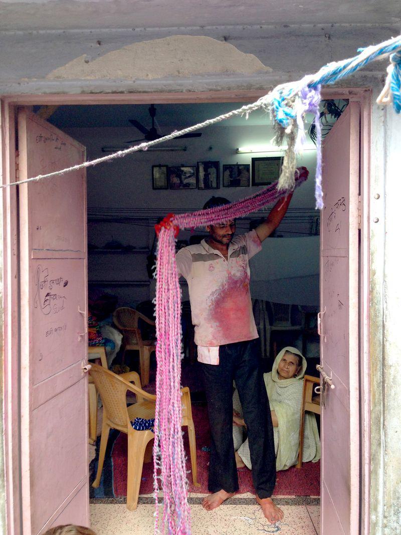 Lehariya dyers process india