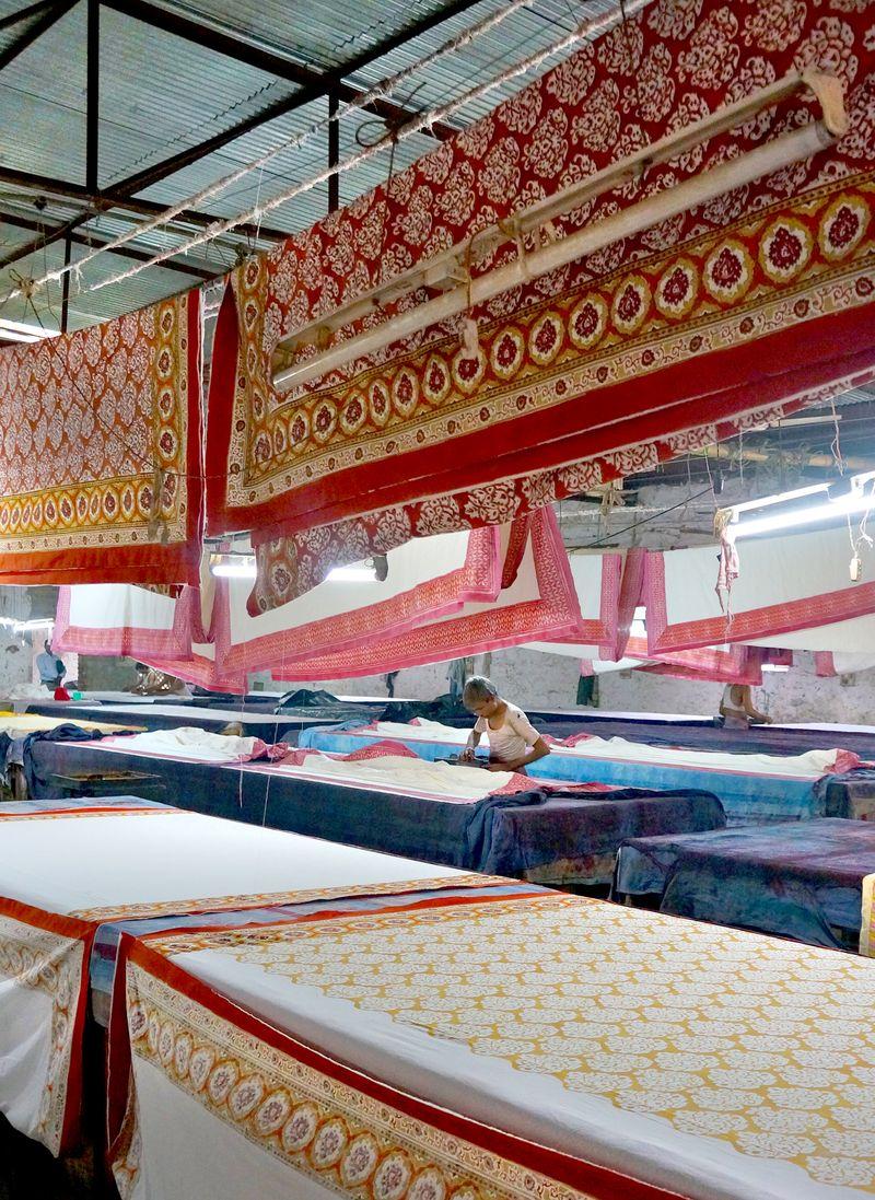 Block Printing workshop jaipur