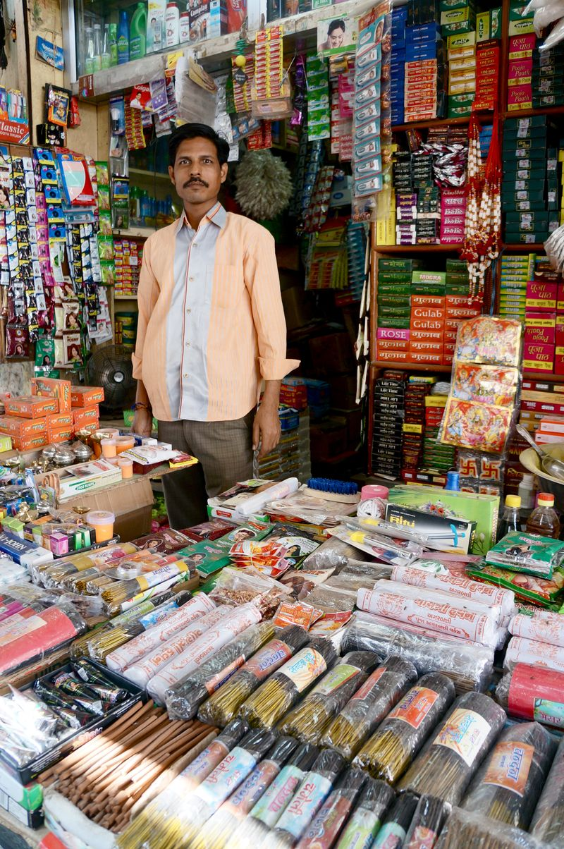Incense vendor jodhpur india anahata katkin