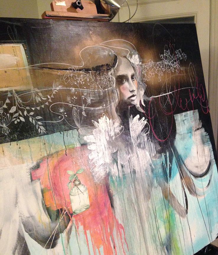Anahata Katkin Painting 2013
