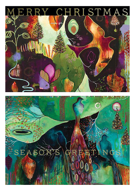 Flora holiday cards