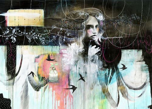 The Swallows by Anahata Katkin