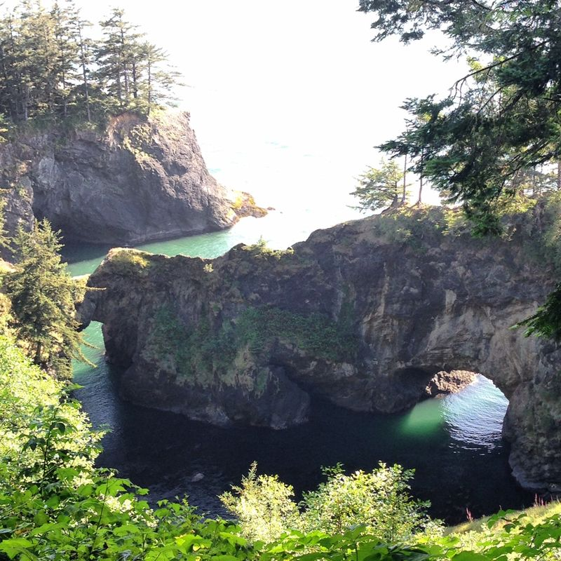 Oregon Coast Natural Bridge- Anahata Katkin