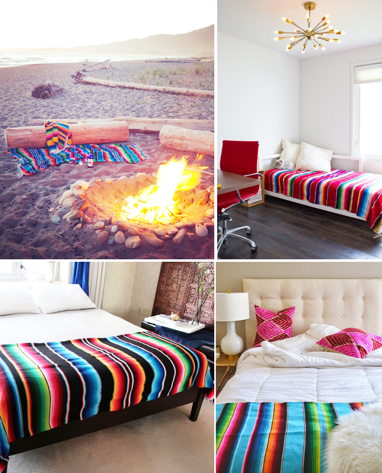 Serape decor inspiration- anahata katkin Blog