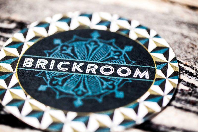 Brickroom restaurant coasters- Anahata Katkin Blog