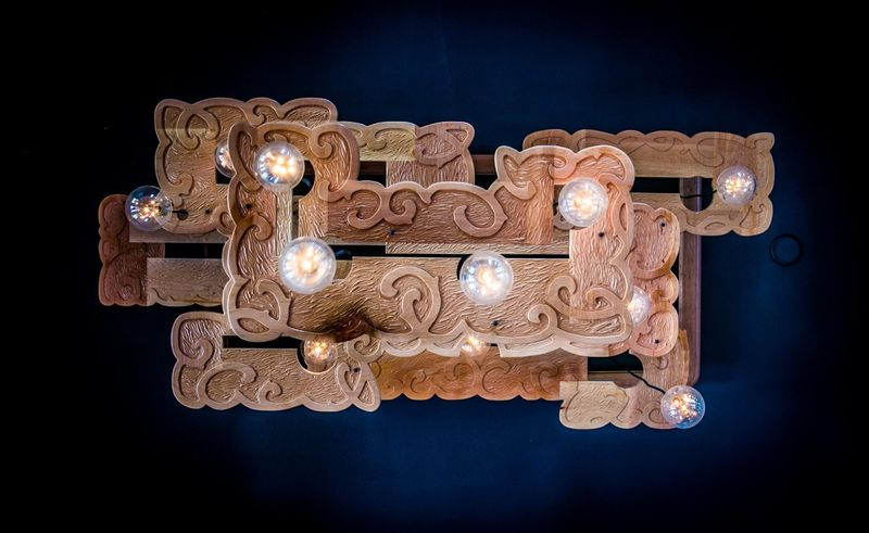 Custom restaurant lighting at Brickroom- Anahata Katkin Blog
