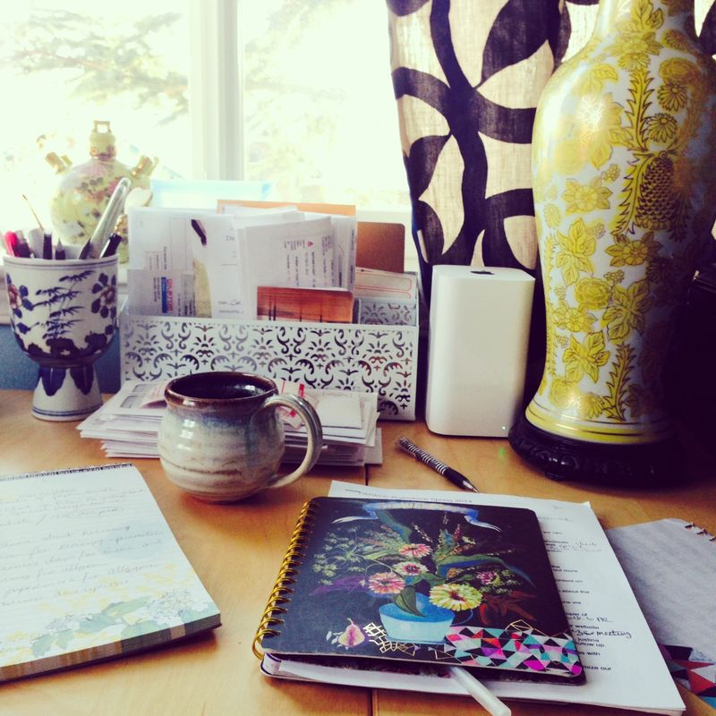 Desk top papaya anahata katkin