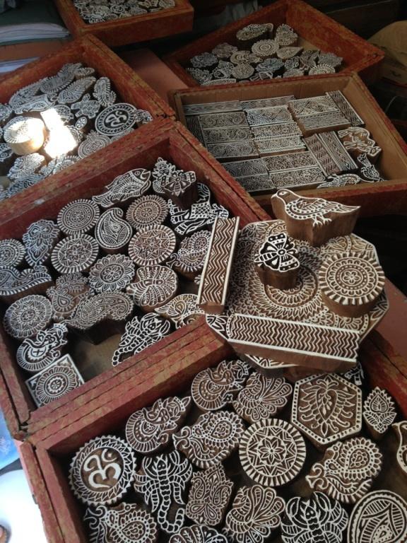 Wood blocks from india anahata katkin