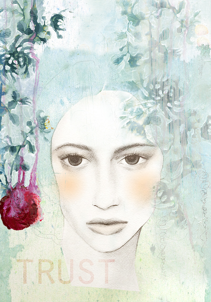 Trist- by Anahata katkin for PAPAYA