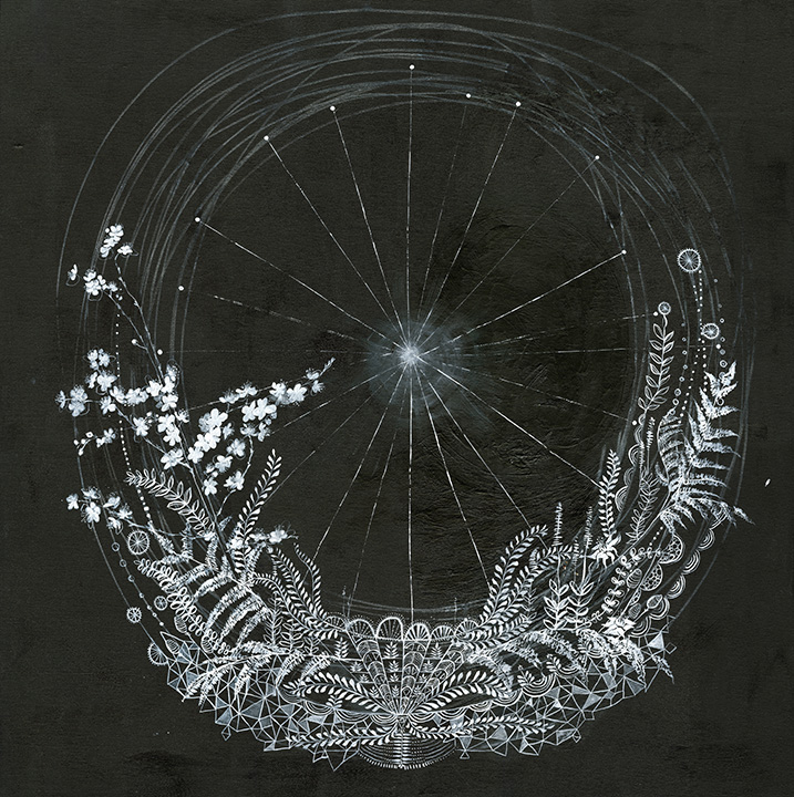 Blk wht wheel- Anahta Katkin