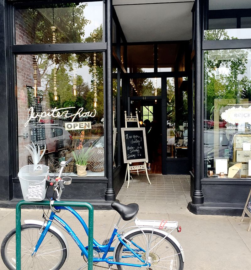 Jupiter Row Storefront